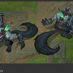 Grey Warwick Update Concept 1 (by Riot Artist <a href=