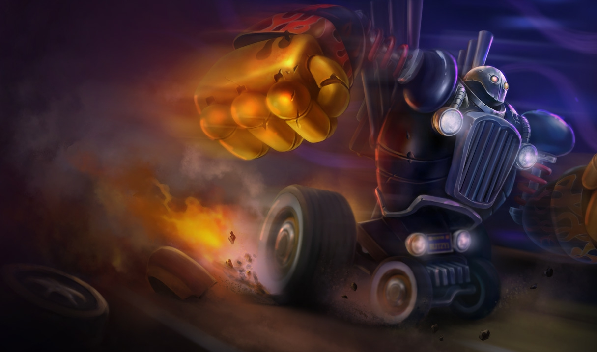 Blitzcrank Piltover Customs-Blitzcrank S