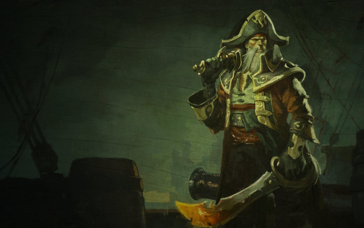 Gangplank Captain The Burning Tides 01