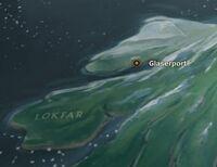 Glaserport map
