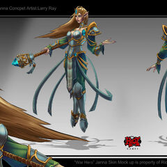 Victorious Janna Concept (by Riot Artist <a href=