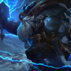 Thunder Lord Ornn Splash Concept 2 (by Riot Artist <a href=