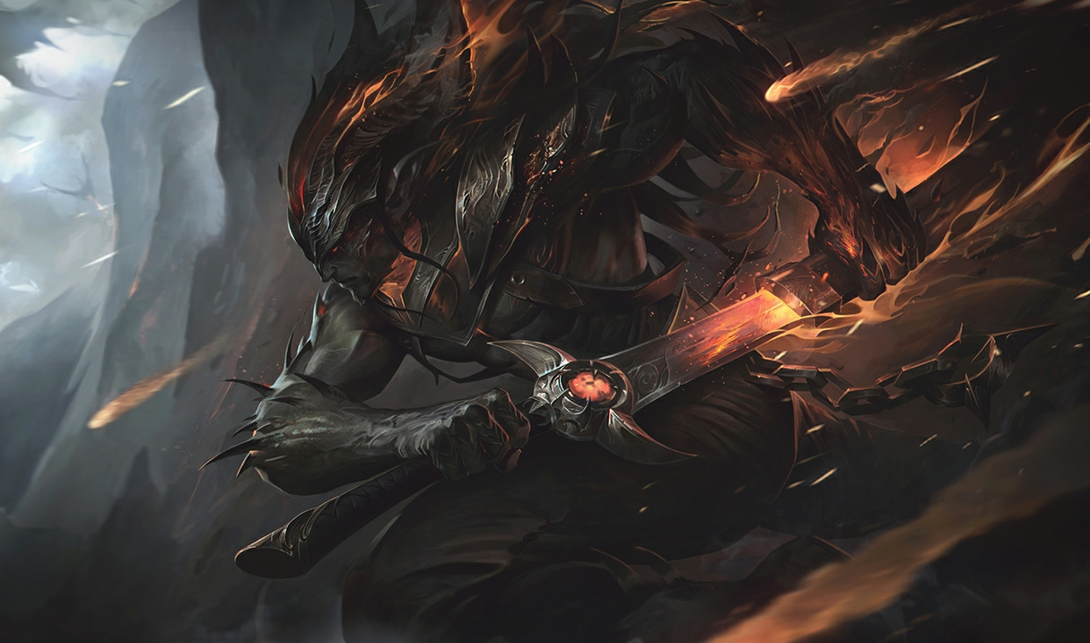 Yasuo Flammende Finsternis Yasuo S