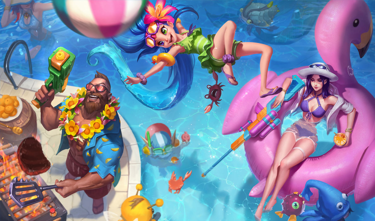 Caitlyn League Of Legends Miss Fortune Vi Nder