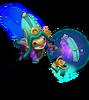 Lulu Kosmische Zauberin Lulu (Türkis) M