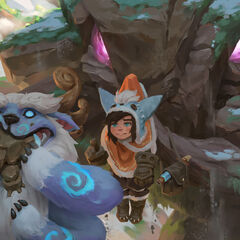 Nunu &amp; Willump It's Me and You Promo 4 (By Riot Collaborating Artist <a rel=
