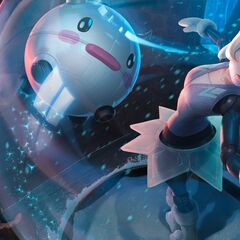Poro Rug & Robot Poro in Winter Wonder Orianna splash art