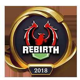Worlds 2018 Rebirth eSports (Gold) Emote