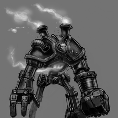Blitzcrank Concept 2 (by Riot Artist <a href=