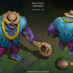 Pool Party Mundo Concept (by Riot Artist <a href=