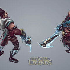 Draven Model 3 (by Riot Artist <a href=