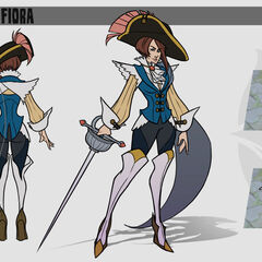 Royal Guard Fiora Update Concept 3 (by Riot Artist <a href=