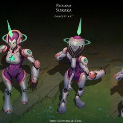 Program Soraka Concept (by Riot Artist <a href=