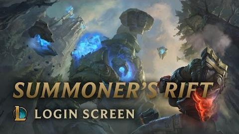 Summoner's Rift - ekran logowania