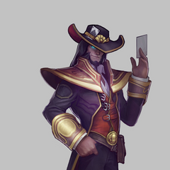 Twisted Fate Update Concept (by Riot Artist <a href=