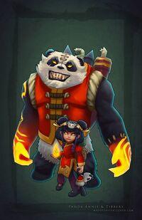 Annie Panda- Konzept