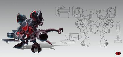 Cho'Gath Stahlkrieger- Prime Konzept