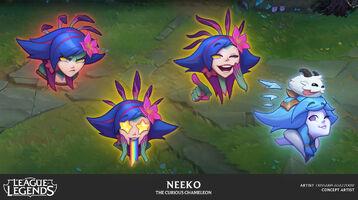 Neeko Emotes Konzept 3