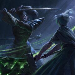 Riven and Yasuo