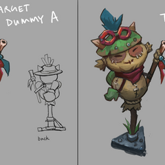 Teemo Target Dummy Concept 1 (by Riot Artist <a rel=
