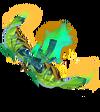 Anivia Papierkunst-Anivia (Smaragd) M