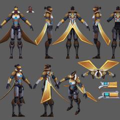 Prestige Pulsefire Lucian Model
