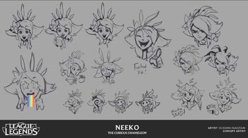 Neeko Emotes Konzept 1