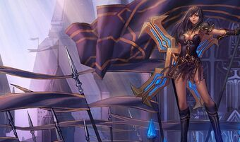 Sivir WarriorPrincessSkin