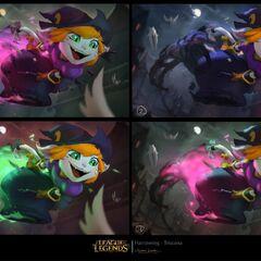 Bewitching Tristana Splash Concept 2 (by Riot Artist <a href=