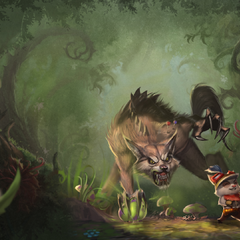 Great Hunt - Teemo (by Riot Artist <a href=