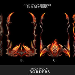High Noon Borders Concept 2 (by Riot Artist <a href=