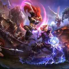 Champions in battle 3