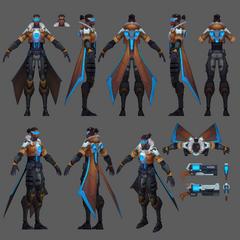 Pulsefire Lucian Model