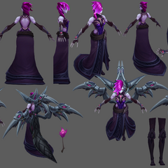 Blade Mistress Morgana Update Model 2 (by Riot Artists <a href=