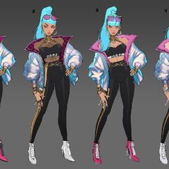 True Damage Qiyana Concept 5 (by Riot Artist <a href=