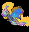 Anivia Papercraft (Rainbow)