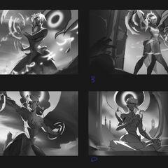 Dawnbringer Karma Splash Concept 1 (by Riot Contracted Artist <a href=