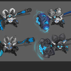 Hextech Poppy Concept 1 <small>(by Riot Artists <a rel=