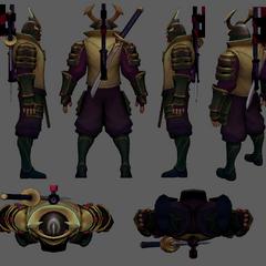 Warlord Shen Update Model