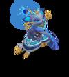 Yuumi Herzsucher-Yuumi (Aquamarin) M