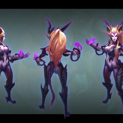 Dragon Sorceress Zyra Model 4 (by Riot Artist <a href=