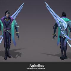 Aphelios Model 4 (by Riot Artist <a href=