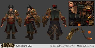 Gangplank Update Model 01