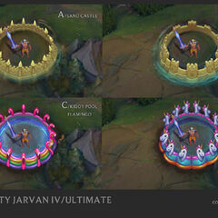 Pool Party Jarvan IV Concept 4 (by Riot Artist <a href=