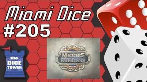 Miami Dice 205 Mechs vs