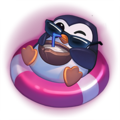Pool Party Pengu Emote.png