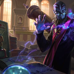 Professor Ryze Update Splash Concept 4 (by Riot Artist <a rel=