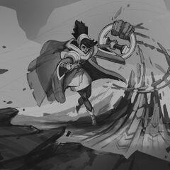 Taliyah Concept 19 (by Riot Artist <a href=