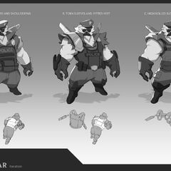 Captain Volibear Update Concept 2 (by Riot Artist <a href=