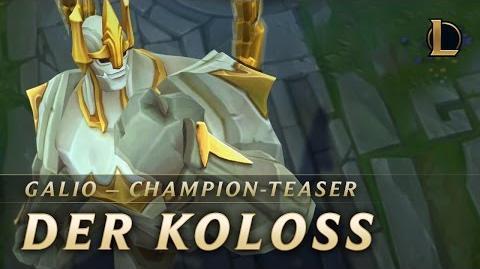 Champion Teaser Galio, der Koloss League of Legends